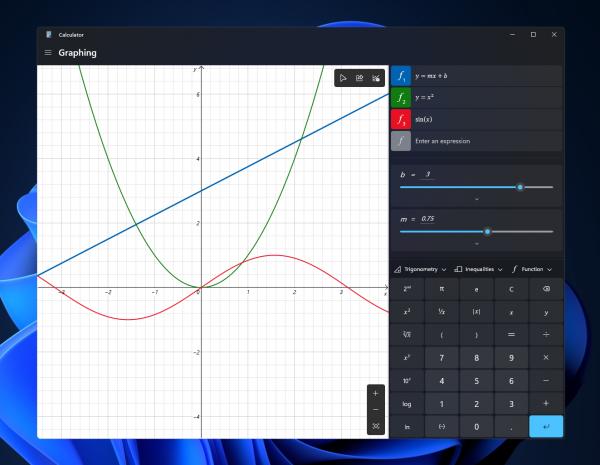 Microsoft Windows 11 Calculator Update