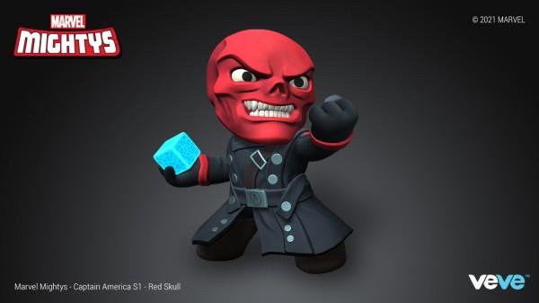 Red Skull Marvel Mighty NFT