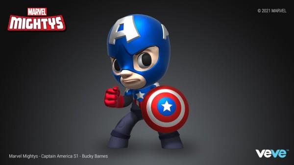 Bucky Barnes Marvel Mighty NFT