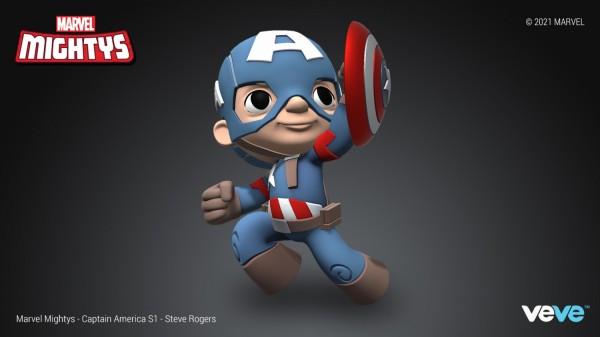 Steve Rogers Marvel Mighty NFT