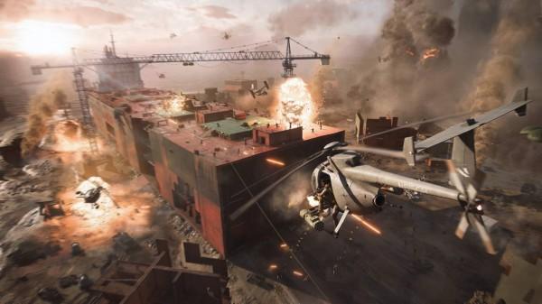 Battlefield 2042 screen helo