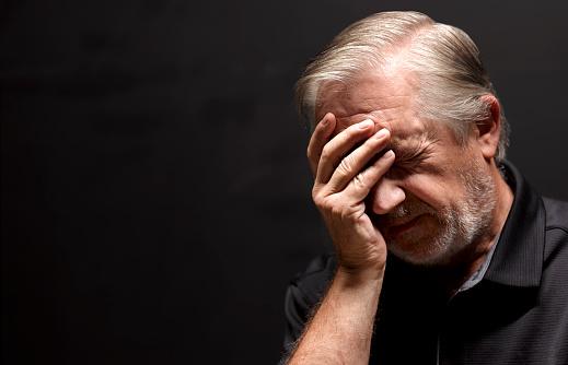 Old man headache