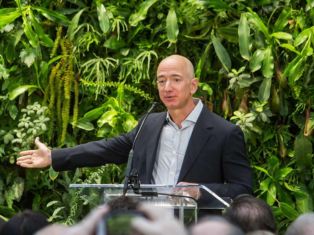 Blue Origins Owner Jeff Bezos