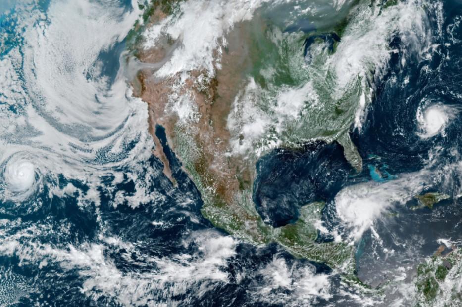 GOES-16 Satellite Image of North America