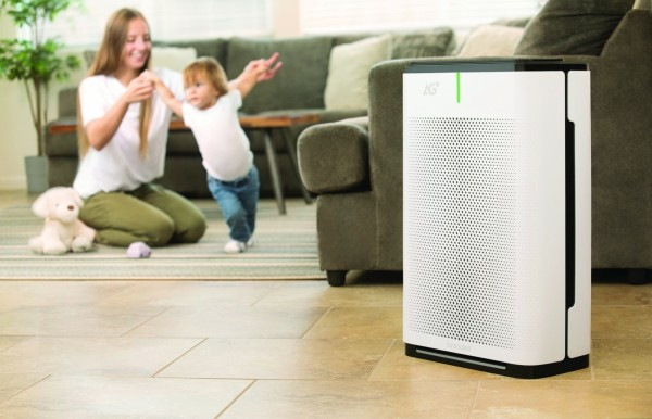 Brondell Pro Sanitizing Air Purifier with AG+ Technology by Aurabeat