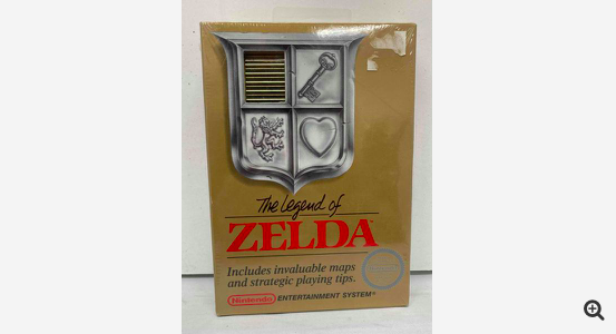 """'Legend of Zelda"""" Rare Donated Copy Sells for $411,000 For a Good Cause at Goodwill"""