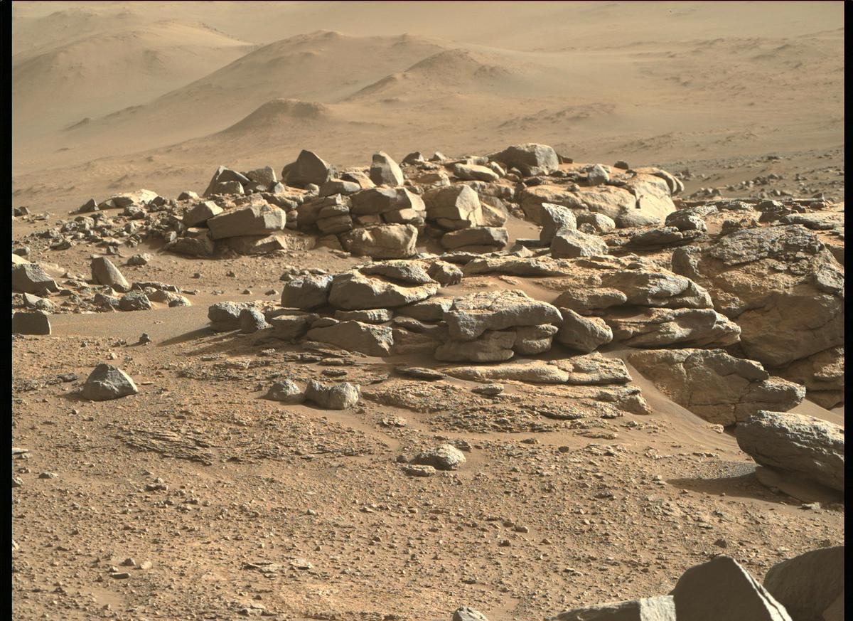 NASA Perseverance Rock Samples