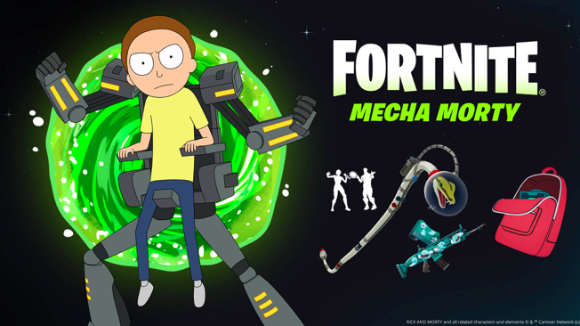 'Fortnite's' New Rick and Morty Skin, MechaMorty, Arrives, Reuniting with Rick—How to Get?