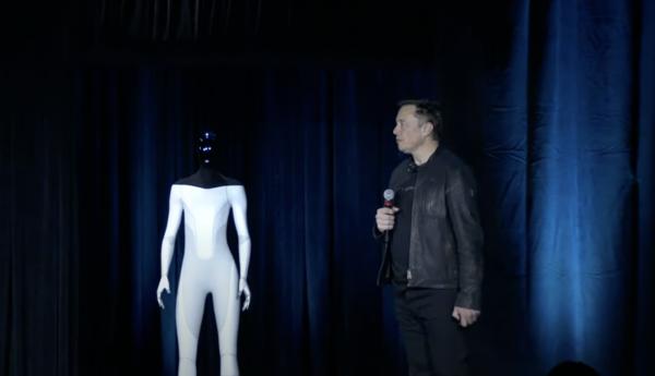 Elon Musk and the Tesla Bot