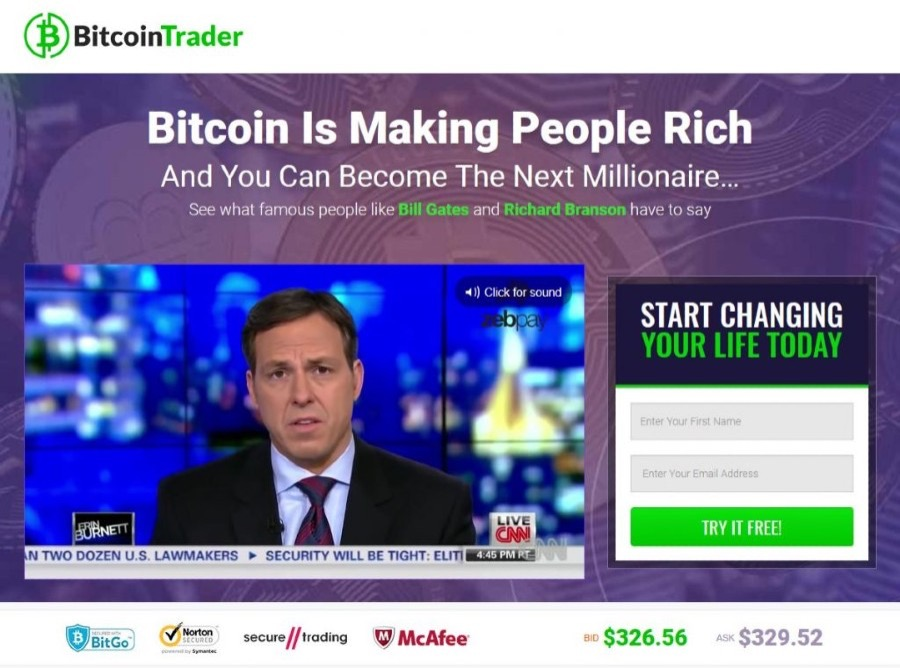 Bitcoin Trader Review: Legit Trading Software or Scam App?