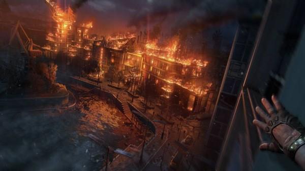 Dying light 2 burning