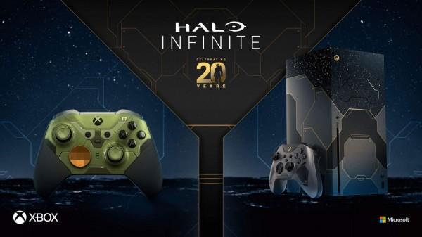 Xbox Series X Halo Infinite Themed Console