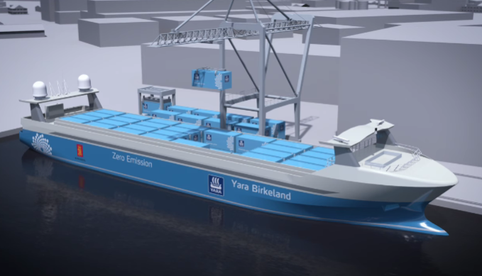 First Zero-Emission Ship Makes Voyage with No Crew Members Onboard