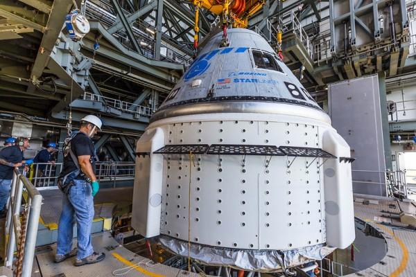 Spacecraft Mate: Atlas V Starliner OFT-2