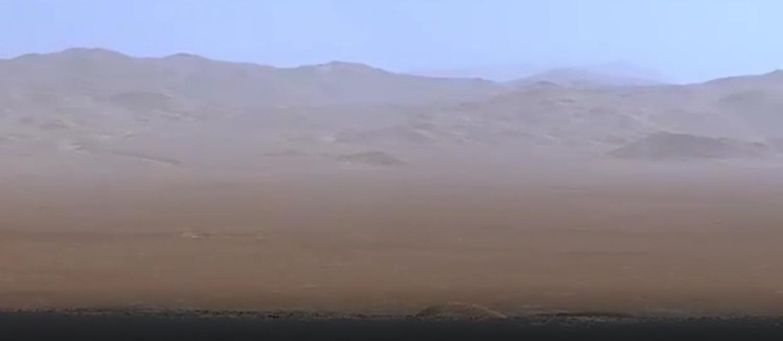 NASA's Curiosity Rover Shoots Breath-taking Photos of Mars' 18,000-Foot Mountains