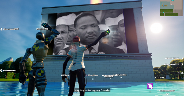 'Fortnite' March Through Time Updates: MLK's 'I Have a Dream' Speech Interaction, Disabled In-Game Emotes, and MORE!
