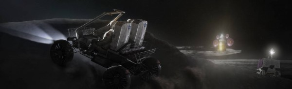 NASA Lunar Terrain Vehicle for the Artemis