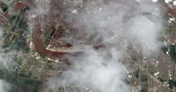 Image Taken by Worldview-2 Satellite