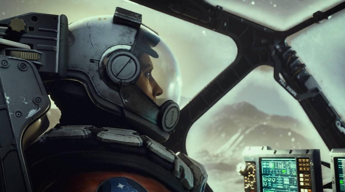 Starfield screen pilot