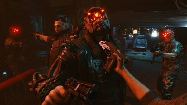 Cyberpunk 2077 screen