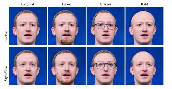 Photorealistic Edits to Mark Zuckerberg's Photo