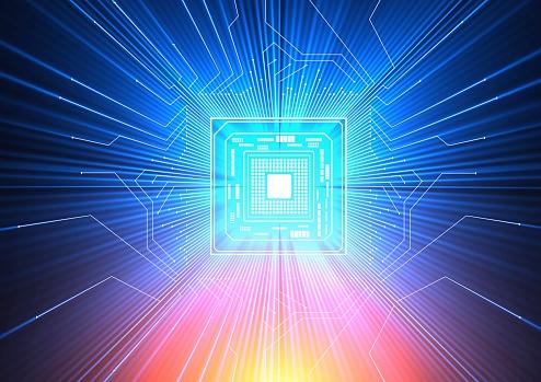 Quantum computer art
