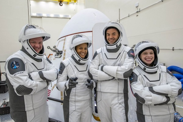 The Crew Members of the SpaceX Inspiration4 Mission