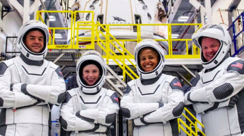 SpaceX Inspiration4 Mission to Use iPhone, iPad, Apple Watch for Spaceflight Health Studies