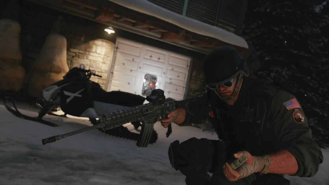 Ubisoft rainbow six siege screen