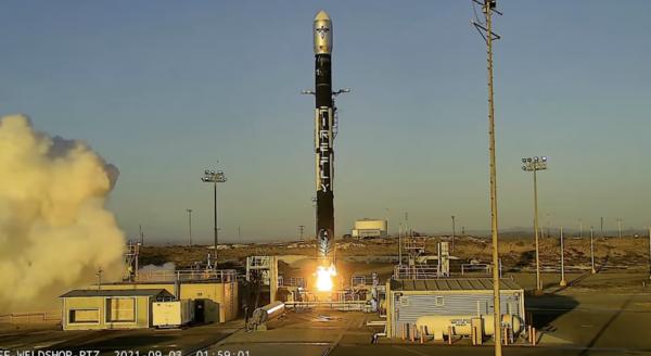 Firefly Alpha Rocket Explosion Termination