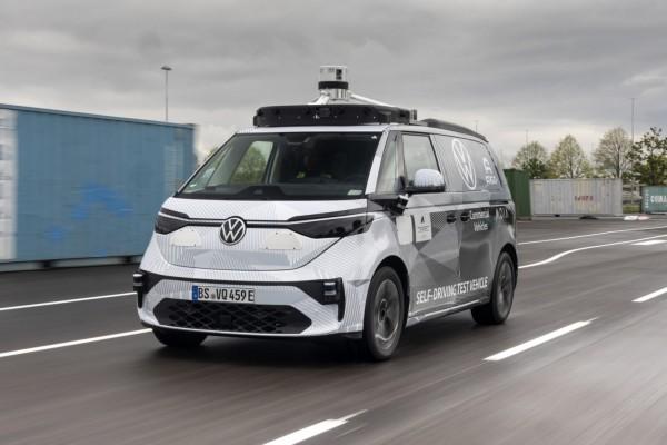 Volkswagen ID Buzz with Argo AI SDS