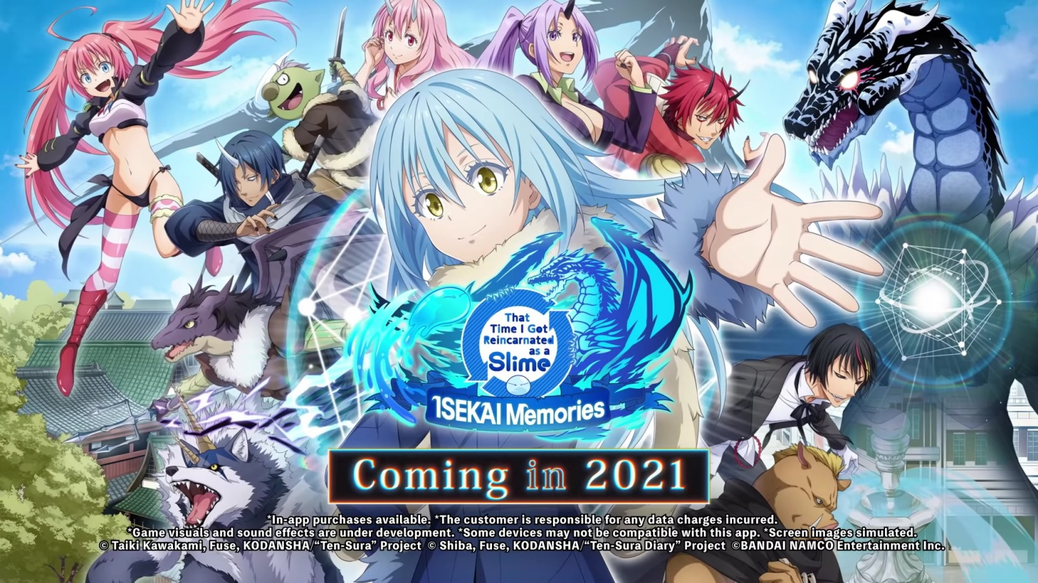 'That Time I Got Reincarnated as a Slime' to Arrive in Android, iOS: 3D Battle System, Pre-registration, and MORE
