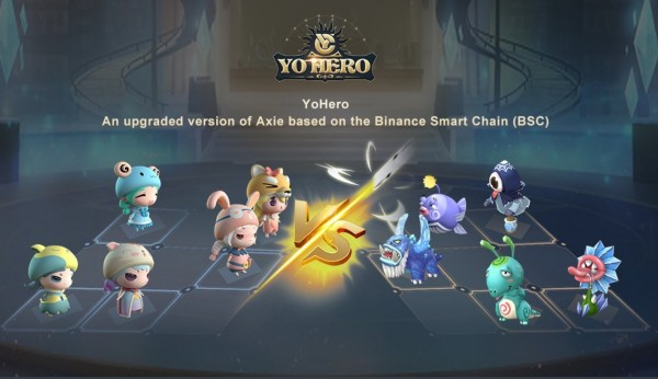 'YoHero Metaverse,' A Revamped'Axie Infinity' NFT Game Will Arrive this Month