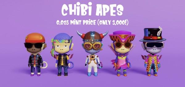 Chibi Apes NFTs