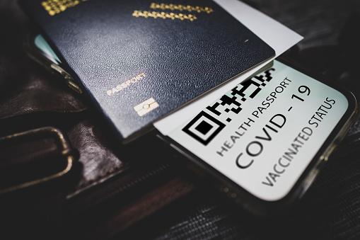Vaccine passport black