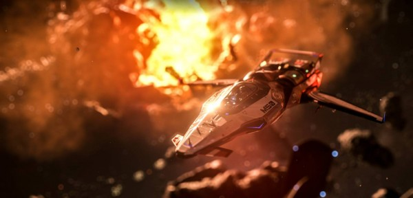 Star citizen screen spaceship