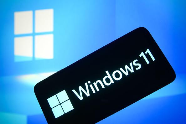 Windows 11 logo phone