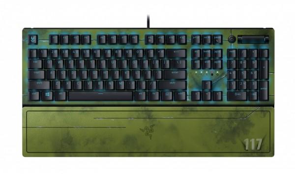 BlackWidow V3 keyboard – Halo Infinite Edition