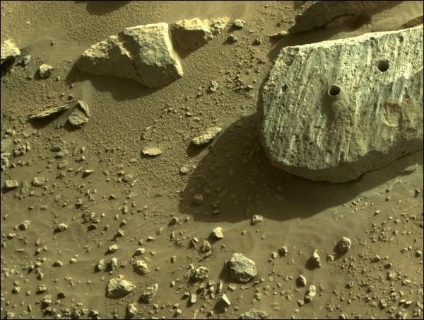 Martian Rock Nicknamed