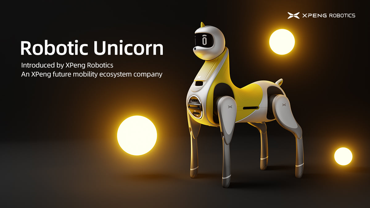 Robot Unicorn Being Developed by Chinese EV Company   Speak, Play, and 'Build Emotional Connections'
