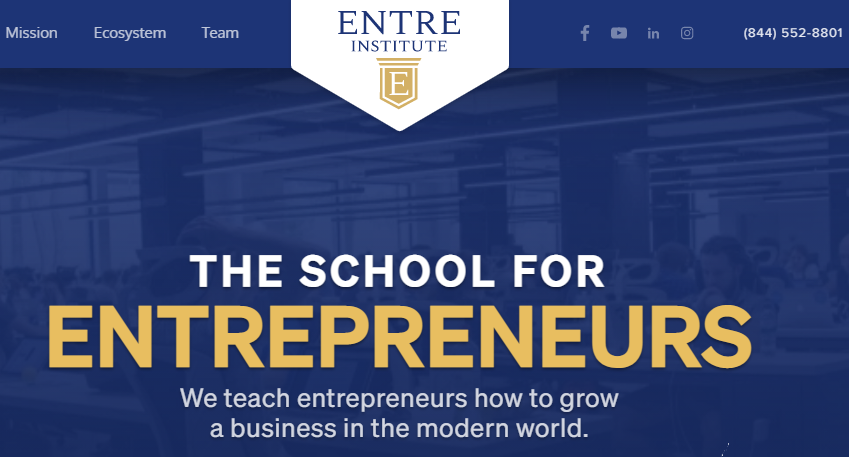 Entre Institute Review: Learn from an Inc. 5000 Company