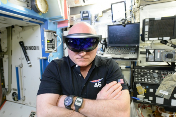 ISS Now Relies on AR Apps To Conduct Repairs: New T2 Augmented Reality Uses HoloLens AR Goggles, Specialized NASA Software