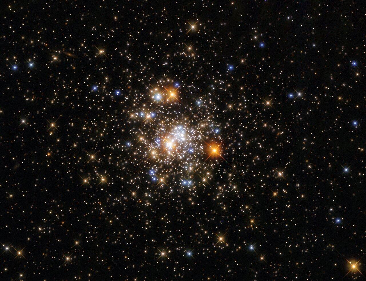 Hubble Space Telescope's Photo of NGC 6717 Globular Cluster