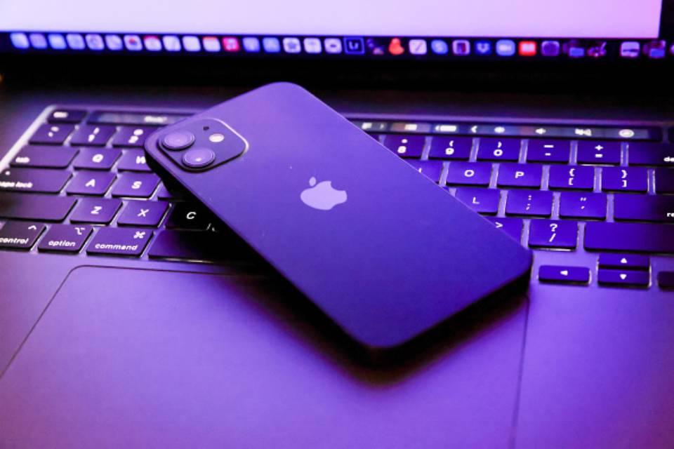 Iphone 12 closeup