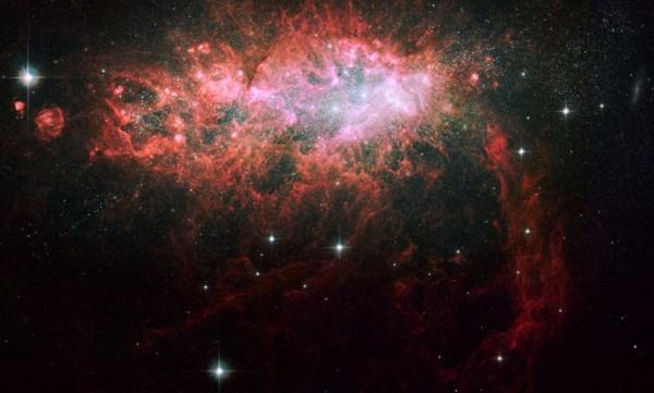 NGC 1569 Irregular Galaxy