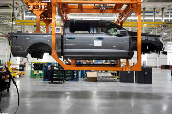 Ford F-150 Electric Pickup Pre-Production Begins—Adding 450 Jobs and Investing $250 Million To Enhance Capacity