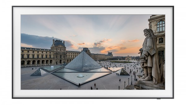 The Louvre in Samsung's The Frame