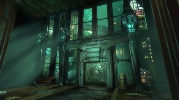 gaming Bioshock screen