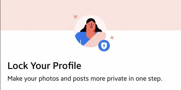 Facebook Lock Profile