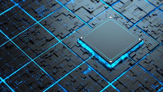 Microchips art